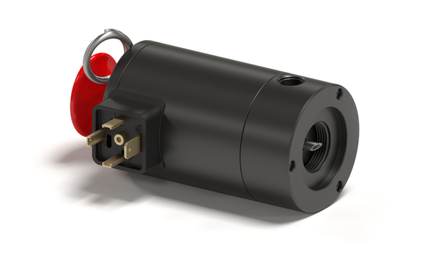 Latching Solenoid with Burst Pin
