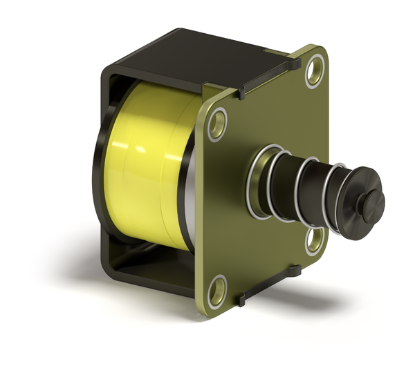 Open Frame Latching Solenoid